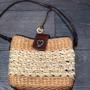 Brighton weave purse